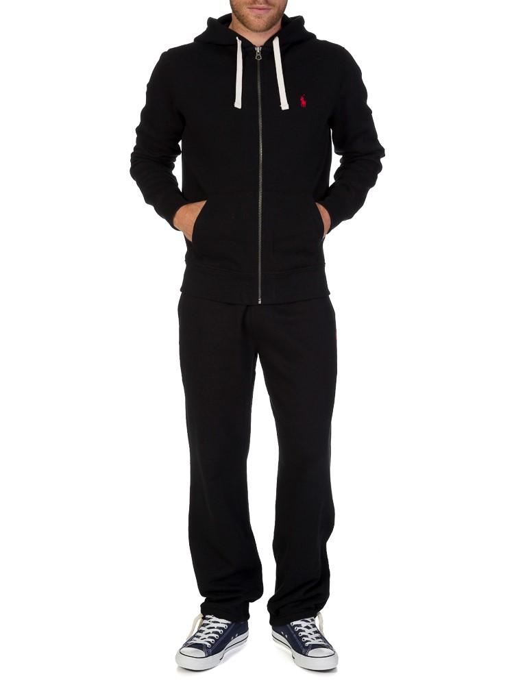 Polo Ralph Lauren Neon Big Pony Fleece Hoodie in Black for Men | Lyst